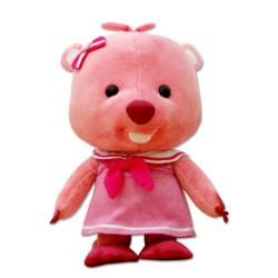 дете-добрият мека играчка pororo приятел смахнат плюшена кукла
