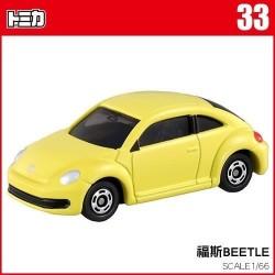 tomica NO.033 volkswagen beetle