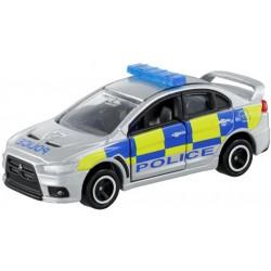 Tomica NO.039 Mitsubishi Lancer Evolution X brit rendőrség