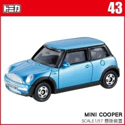 tomica NO.043 Mini Cooper