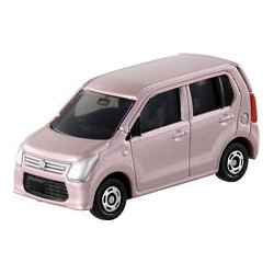 Tomica NO.058 suzuki wagon R ružová