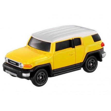 tomica NO.85 toyotafj cruiser yellow