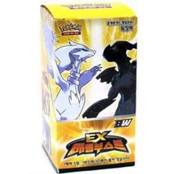 """pokemon kort bw """"ex kamp boots"""" booster box koreansk ver"""