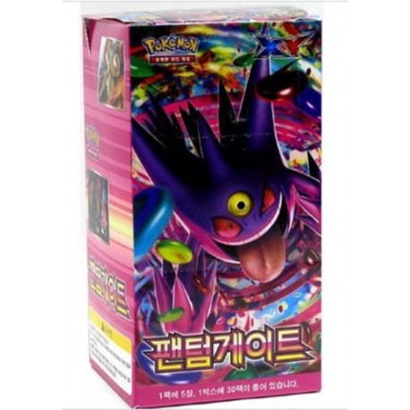phantom gate - pokemon card game XY booster box korean