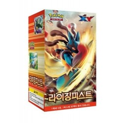 "pokemon card XY ""rising fist"" booster box / korean Ver"