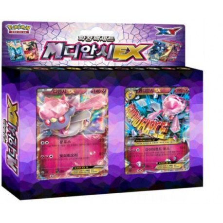 "pokemon card XY ""M diancie Ex"" / korean ver"
