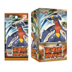 "pokemon card BW ""dragon blade"" booster box/korean ver"