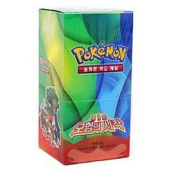 Pokemon карты № 1 бустер коробка / корейский версии