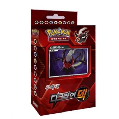 pokemon card darkrai battle strength deck korean ver