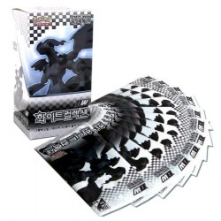 pokemon kort bw hvit samling booster box koreansk ver