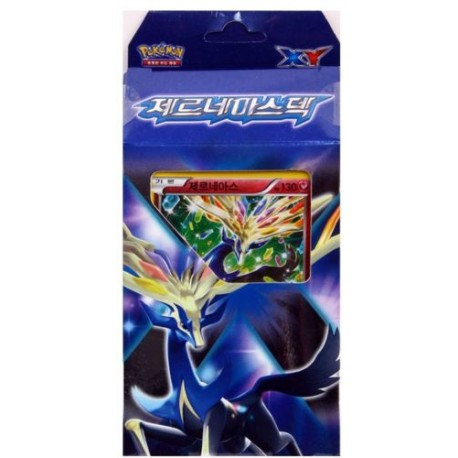 pokemon card xy xerneas battle strength deck korean ver