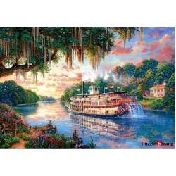 jigsaw puzzles 1000 gabalus upe queen Thomas Kinkade