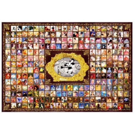 jigsaw puzzles 1000 pieces disney characters collection