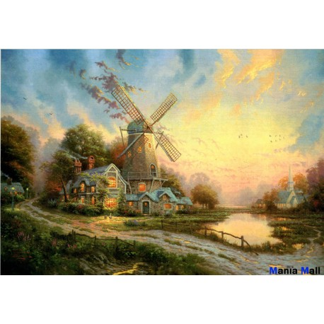 jigsaw puzzles 1000 pieces song of the wind thomas kinkade