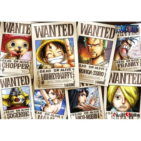 jigsaw puzzles 1000 pieces onepiece wanted