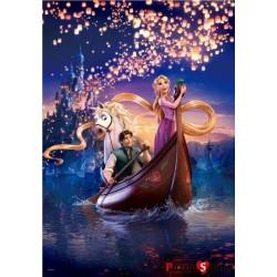 kirakós rejtvények 1000 darab izzani Rapunzel álma disney