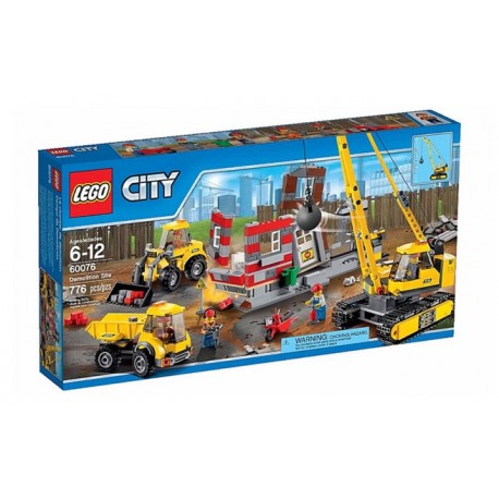 LEGO City 60075 City Demolition LEGO Excavator and Truck Set