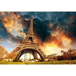 rompecabezas rompecabezas de 1000 piezas crepúsculo en París