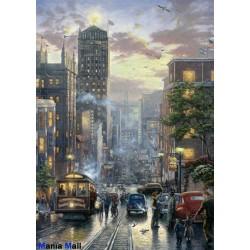 pussel 1000 stycken San Francisco Powell street