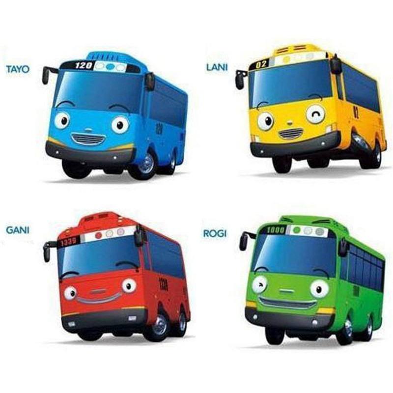 20 Beautiful Tayo The Little Bus Coloring Pages