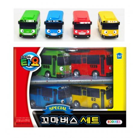 the little bus tayo special set 4 pcs cars tayo rogi gani rani