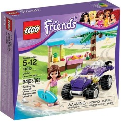 封印された箱にはレゴフレンズ41010フレンズオリビアのビーチバギーセット新