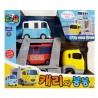 the little bus tayo main diecast plastic car set2 cars carry and bongbong toy