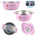 disney frozen kid elsa anna stainless steel nonslip pad food bowl