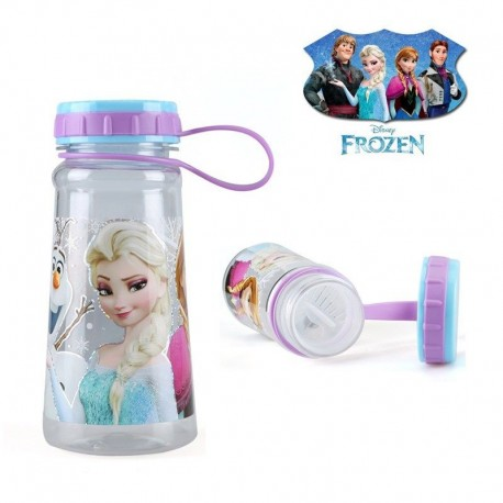 disney frozen water bottle 4 characters 450ml tritan hand strap