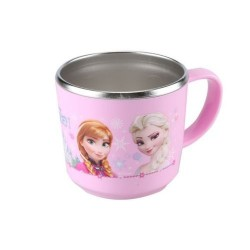disney frozen princess anna elsa ulaf kid's nonslip stainless cup water girls