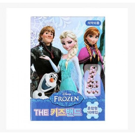 disney frozen character band aid adhesive bandages plasters kids mixed type
