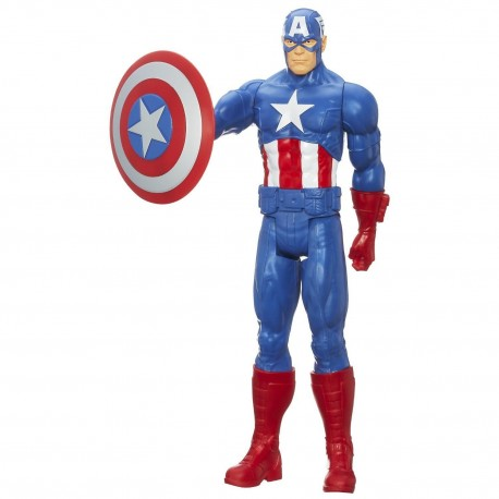 marvel avengers assemble captain america titan hero series 12 inch figure