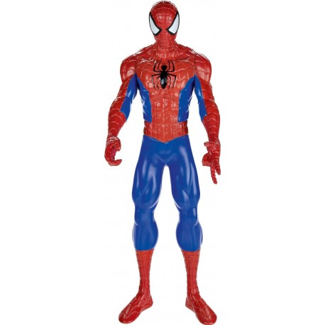 marvel ultimate spider man titan hero series 12 inch figure