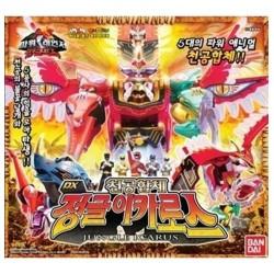 Bandai power rangers vild kraft dx Gao icarus isis Megazord leksak aktionsfigurer