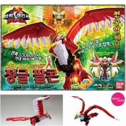 BANDAI Power Rangers GAO Rangers wild dx GAO piekūns jauda dzīvnieks zord rotaļlieta komplekts