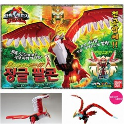 Rangers Power Rangers Bandai sălbatice dx gao GAO putere falcon animal set Zord jucărie