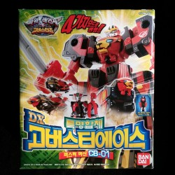Bandai Power Rangers tokumei Sentai отиват Busters DX отида другар асо CB 01 машина