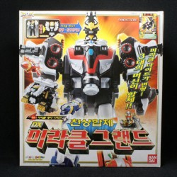 bandai power rangers tensou sentai goseiger mega force dx gosei ground megazord
