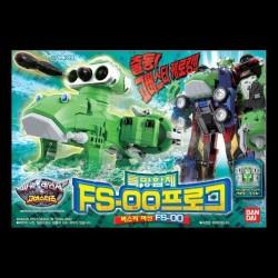 Bandai Power Rangers tokumei Sentai ići Busters DX žaba fs 00 FS 0o