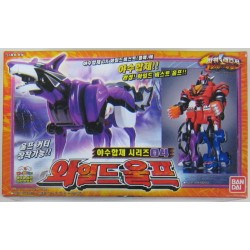 Bandai Power Rangers furie jungla Geki lup Zord
