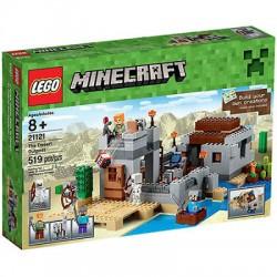 lego minecraft 21120 minecraft a hó rejtekhely set box zárt