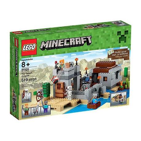 lego minecraft 21120 minecraft the snow hideout set box sealed