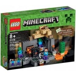 密封されたレゴのMinecraftのMinecraft 21121砂漠の前哨セットボックス