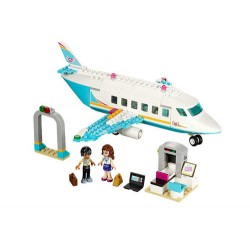 lego vänner 41100 heartlake privat jet set nytt boxas förseglade