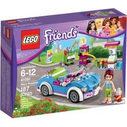 amigos lego roadster 41.091 de mia 41.091 nuevos en caja sellada