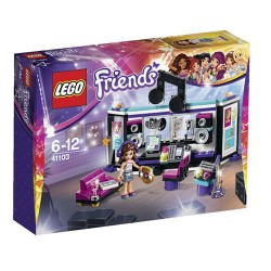 lego friends 41103 pop star recording studio set new in box sealed-