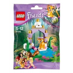 lego friends series 41042 tigers beautiful temple 42 pcs new sealed