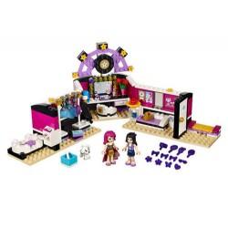LEGO Friends 41104 Popstar Aufnahmestudio eingerichtet im Kasten neu abgedichtet