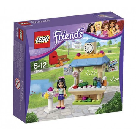 lego friends 41098 emma's tourist kiosk set new in box sealed