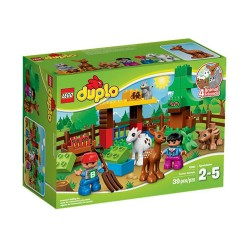 lego duplo 10582 forest animals toy figure set new in box